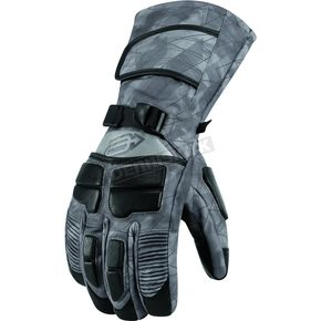 Arctiva Bolt Gray Comp 8 Gloves - 3340-0803