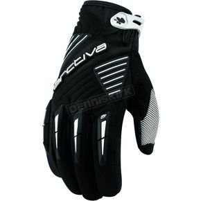 Arctiva Black Comp 8 RR Short Cuff Shell Gloves - 3340-0813
