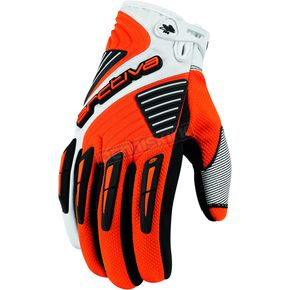 Arctiva Orange Comp 8 RR Short Cuff Shell Gloves - 3340-0818