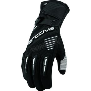 Arctiva Black Comp 8 RR Long Cuff Shell Gloves - 3340-0828