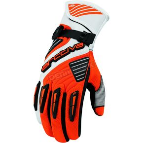 Arctiva Orange Comp 8 RR Long Cuff Shell Gloves - 3340-0833