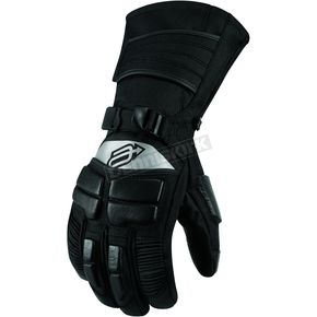 Arctiva Womens Black Comp 8 Gloves - 3341-0233