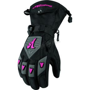 Arctiva Womens Charcoal Gem 5 Gloves - 3341-0253