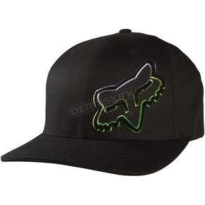 Fox Black Corrosive Flex-Fit Hat - 05004-001