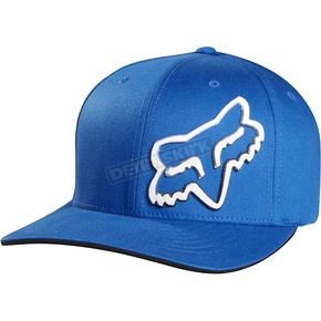 Fox Blue Corrosive Flex-Fit Hat - 05004-002-L/XL