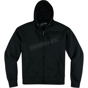 Icon Stealth Upper Slant Zip-Up Hoody - 3050-2183