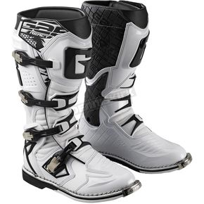 Gaerne White G-React Boots - 2165-004
