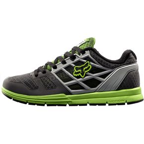 Fox Grey/Green Motion Elite Shoes - 01730-590-10