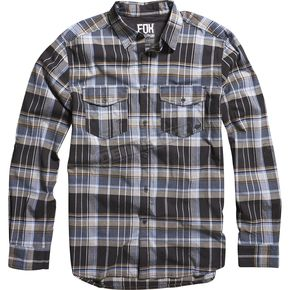 Fox Black Brayden Long Sleeve Shirt - 03826-001-L