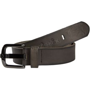 Fox Womens Victor Black Leather Belt - 04644-001-L