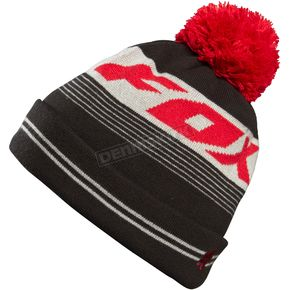 Fox Black/Red Imperfection Beanie - 06572-017-OS