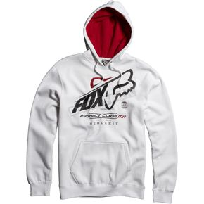 Fox White Constant Shift Hoody - 06584-008-L