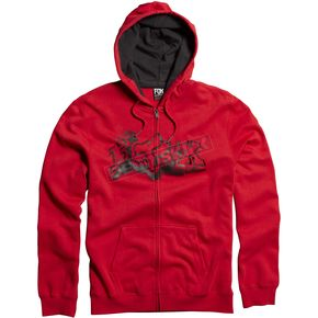 Fox Red Unruler Zip Hoody - 06587-003-L