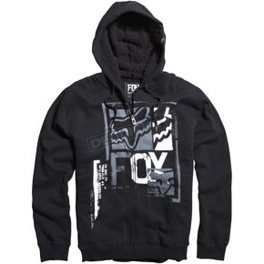 Fox Black Evanite Sherpa Zip Hoody - 06595-001-L