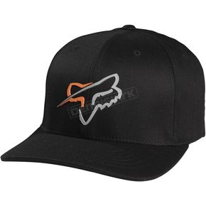 Fox Black Abound Out Flex-Fit Hat - 06736-001-L/XL
