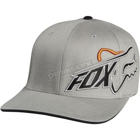 Fox Grey Constant Shift Flex-Fit Hat - 06740-006-L/XL