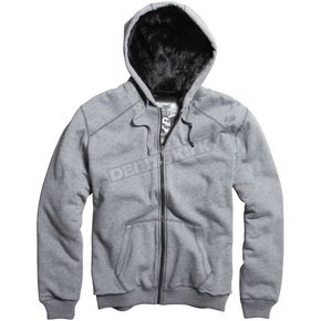 Fox Heather Graphite Outfoxed Sasquatch Zip Hoody - 06763-185-L
