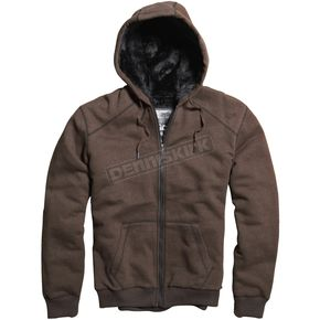 Fox Heather Brown Outfoxed Sasquatch Zip Hoody - 06763-227-L