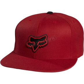 Fox Red Switch Hitter Snapback Hat - 06963-003-OS