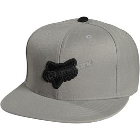 Fox Grey Switch Hitter Snapback Hat - 06963-006-OS