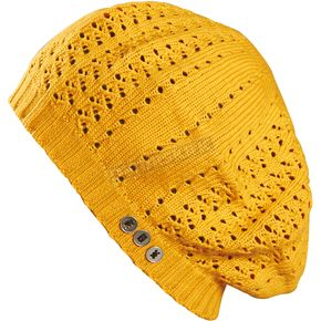 Fox Womens Gold Viper Beret Beanie - 07079-200-OS