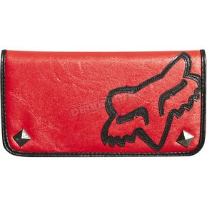 Fox Red Ultimate Bi-Fold Checkbook - 07500-003-NS