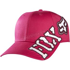 Fox Womens Guava Tilted Baseball Hat - 07557-434-OS