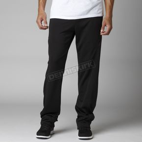 Fox Black Finish Pants - 07618-001-L