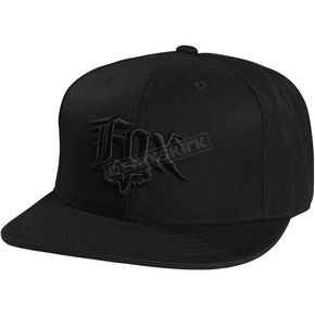 Fox Black Decade Snapback Hat - 08106-001-OS