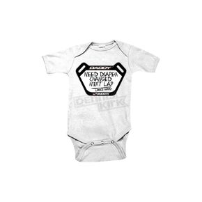 Smooth Industries Dads Pit Board Infant Romper - 1606-103