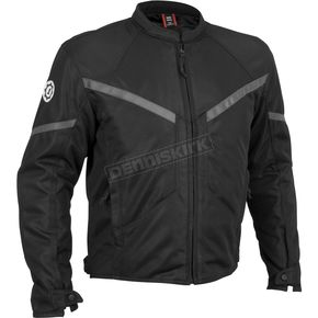 Firstgear Black Rush Mesh Jacket - 51-8101