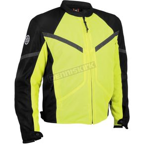 Firstgear Day Glo/Black Rush Mesh Jacket - 51-8119
