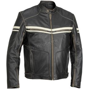 River Road Hoodlum Vintage Leather Jacket - 09-4853