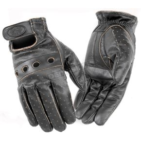 River Road Outlaw Vintage Leather Gloves - 09-1819