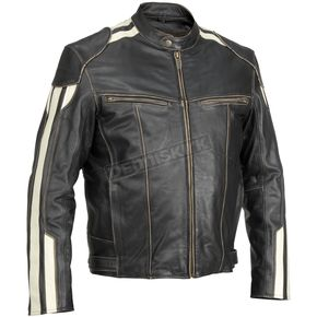 River Road Roadster Vintage Leather Jacket - 09-4845