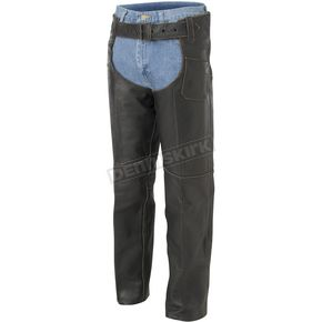 River Road Vintage Leather Chaps - 09-1804