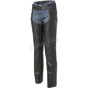 River Road Womens Vintage Leather Chaps - 09-1810