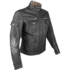 Speed and Strength Womens Little Miss Dangerous Leather Jacket - 87-5242