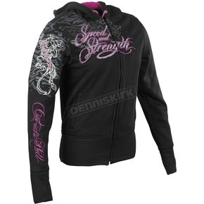 Speed and Strength Womens Cat Out A Hell Armored Hoody - 87-5467