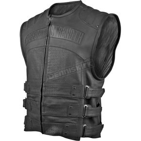 Speed and Strength Hard Knock Life Leather Vest  - 87-5894