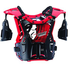 Thor Youth Black/Red Quadrant Roost Guard - 2701-0652