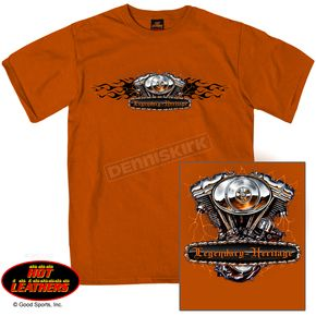 Hot Leathers Legendary Heritage T-Shirt - GMD1206XXXL