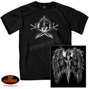 Hot Leathers Reaper Wings T-Shirt - GMD1208XXXL