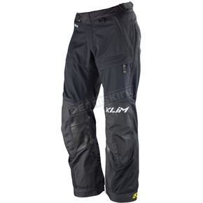 Klim Black/White Tall Latitude Pants (Non-Current) - 5147-001-232-000