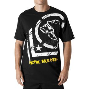 Metal Mulisha Punctured Black T-Shirt - 35-0335