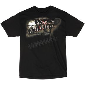 Metal Mulisha Deface Black T-Shirt - 35-0688