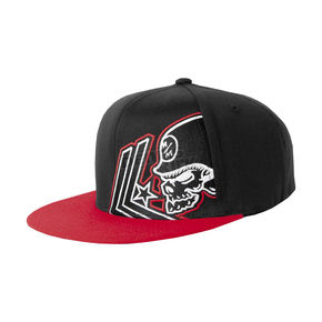 Metal Mulisha Apart Flex-Fit Black/Red Hat - 35-0743