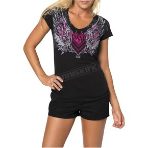 Metal Mulisha Gateway Womens T-Shirt - 35-0765