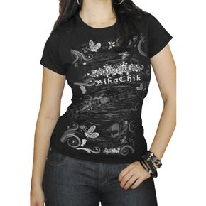 BikaChik Ladies Butterfly Tee - BC40010