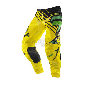 Shift Satellite Green/Yellow Faction Pants - 07239-287-28